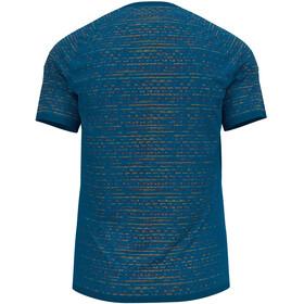 Odlo Blackcomb Ceramicool T-Shirt S/S Crew Neck Men, niebieski